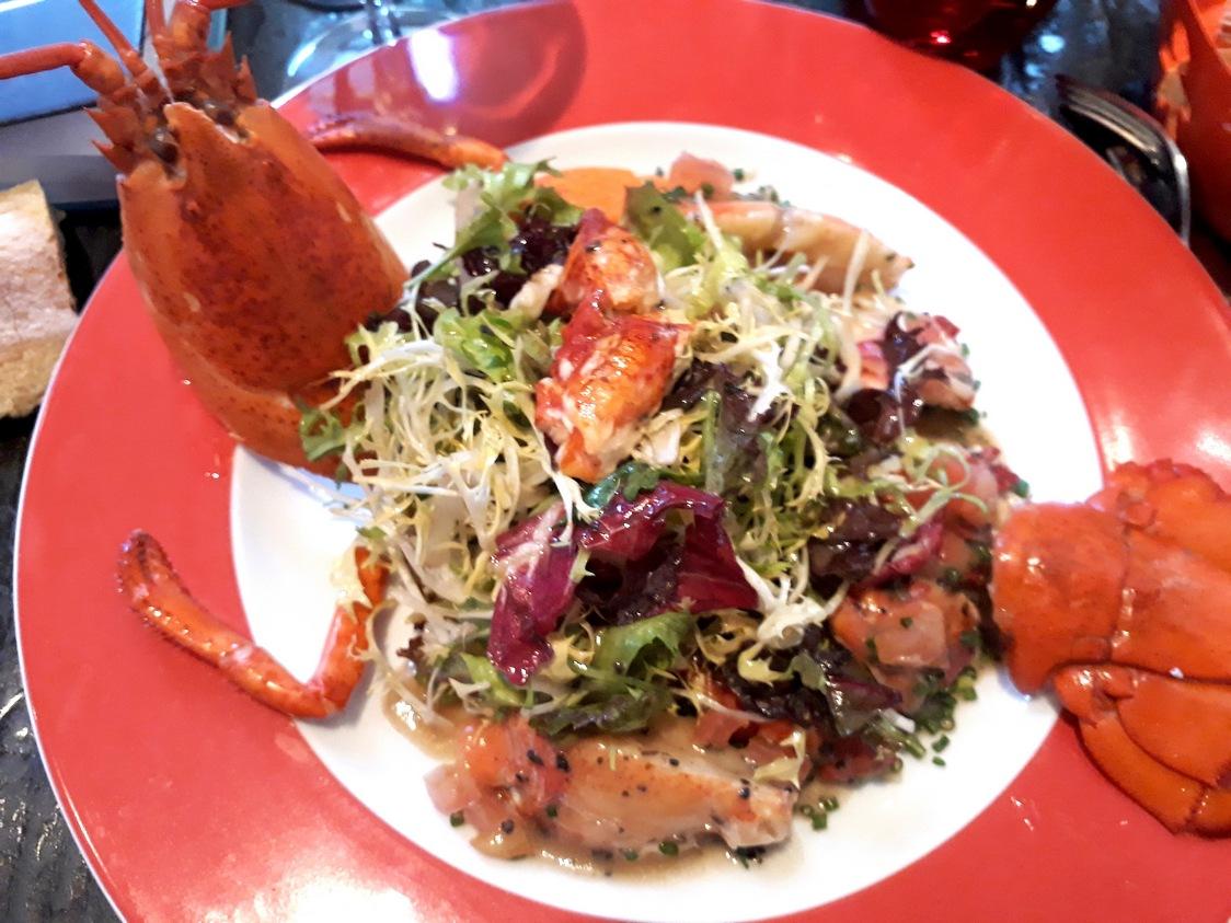 Salade de homard © Gourmets&co