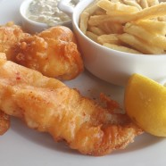 Fish and Chips, sauce tartare aux Grandes Marches