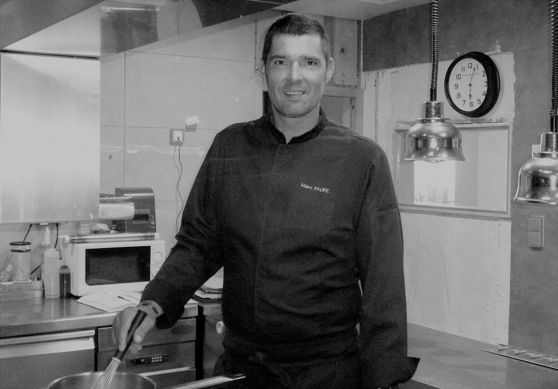 Marc Faure chef Le Cèdre