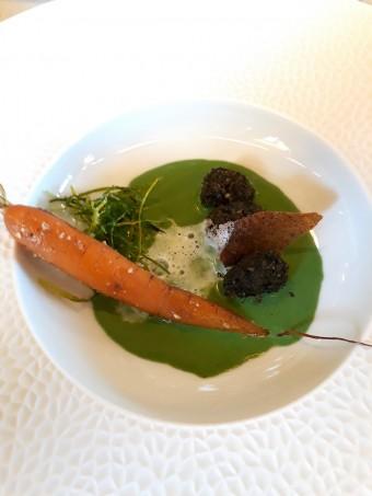 Escargots, émulsion réglisse © Gourmets&co