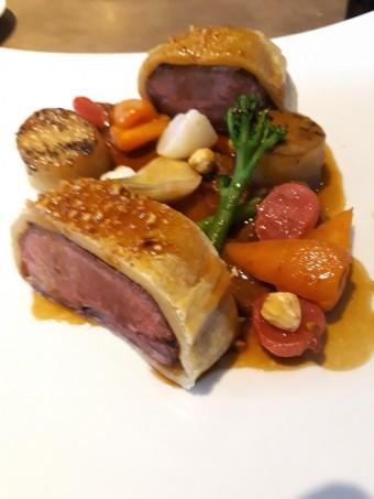 Filet d'agneau en croûte © Gourmets&co