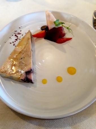 Foie gras, betterave © Gourmets&co