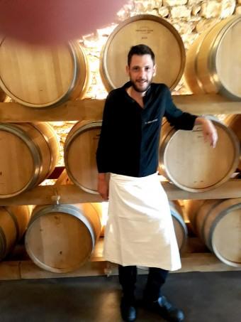 Le chef Allan Duplouich © Gourmets&co