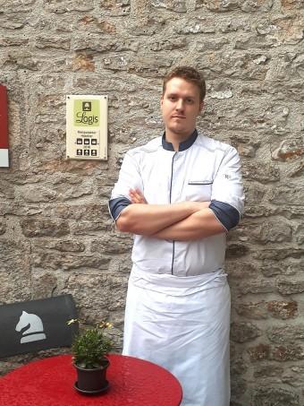 Le chef Geoffrey Marchandé © Gourmets&co
