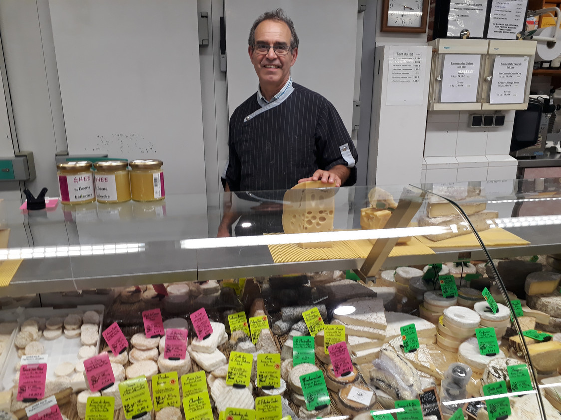 Mr Marty fromager.© Gourmets&co jpg