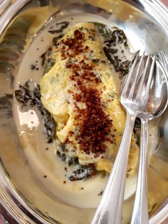 Omelette à l'oseille © Gourmets&co