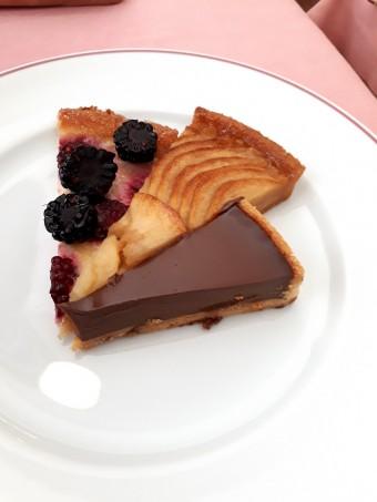Plateau de tartes de mon enfance © Gourmets&co