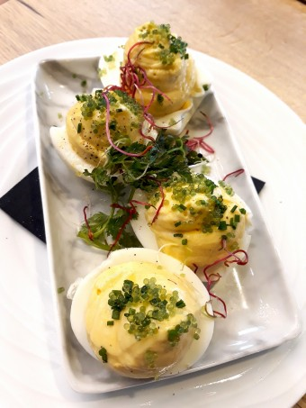 Oeufs mimosa © Gourmets&co