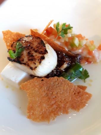Saint-Jacques, langoustines, quinoa... © Gourmets&co