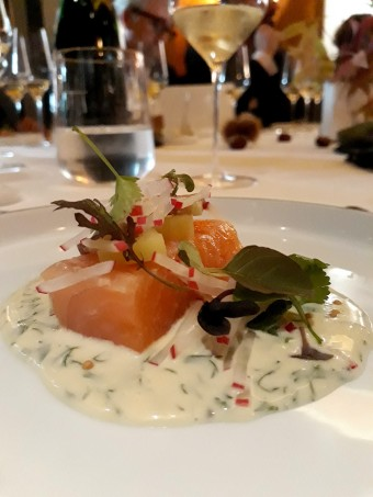 Chaud-froid de saumon... © Gourmets&co