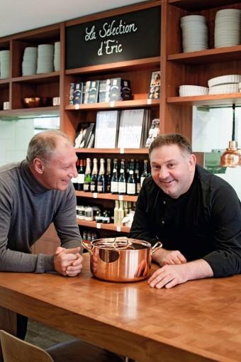 Eric Fréchon et Thierry Colas