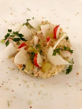 Fraicheur de crabe au citron vert © Gourmets&co