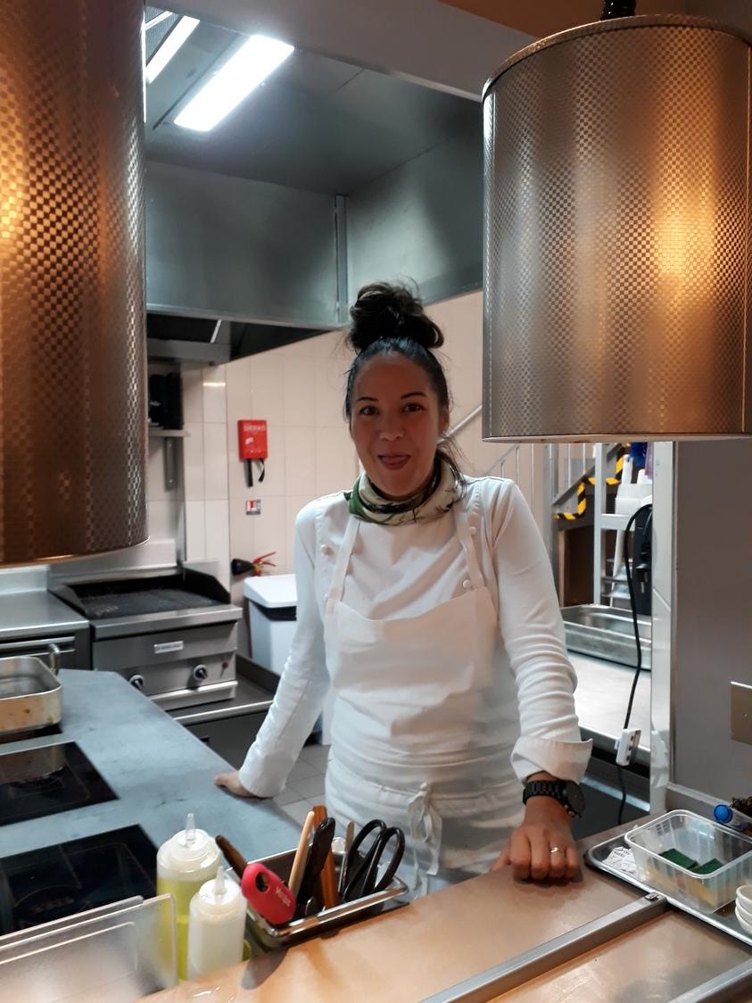 La chef Anastasia Laya © Gourmets&co