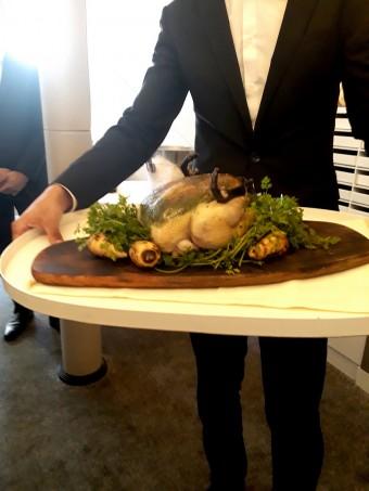 Poulette de Vendée farçie