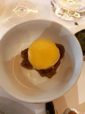 crème maïs, fondue d'oignons... © Gourmets&co