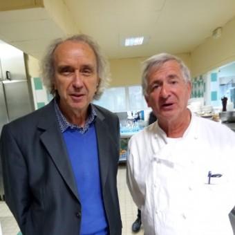 Jean Cousseau en bonne compagnie. © Gourmets&co
