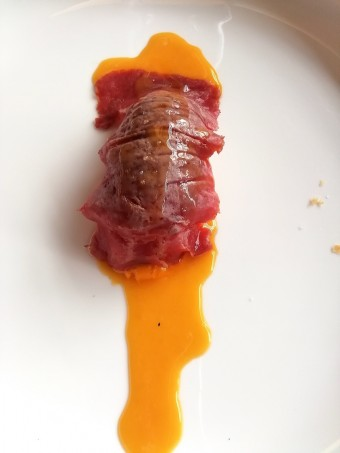Langoustine, pressa ibérique © Gourmets&co .