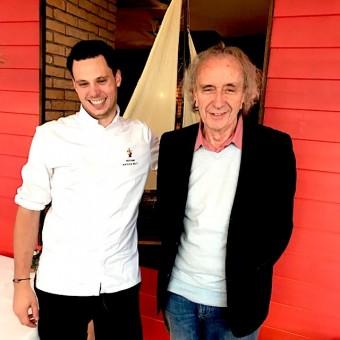 Le chef Nathan Helo & P. Faus © Olivia Goldman