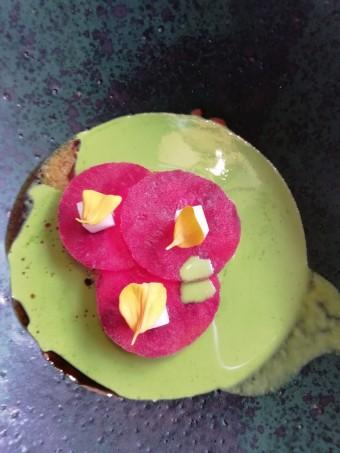 Moules, maquereaux, harengs, jus vert © Gourmets&co .