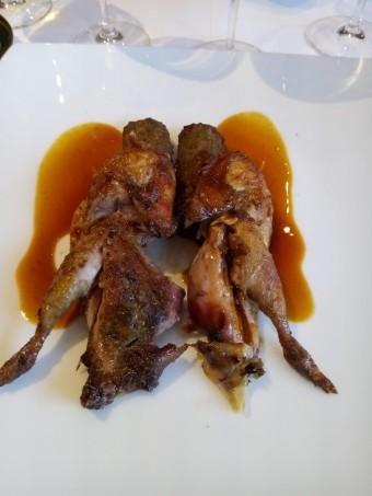 Perdreau rôti, jus simple © Gourmets&co