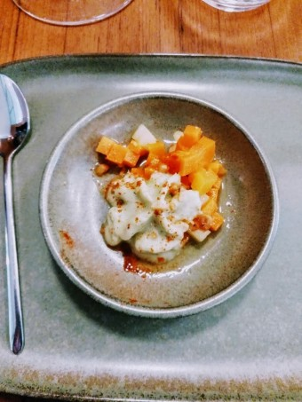 -Picles et mousse de chou-fleur © Gourmets&co
