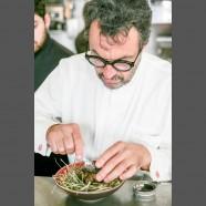 Yves Camdeborde aime le caviar d'Aquitaine