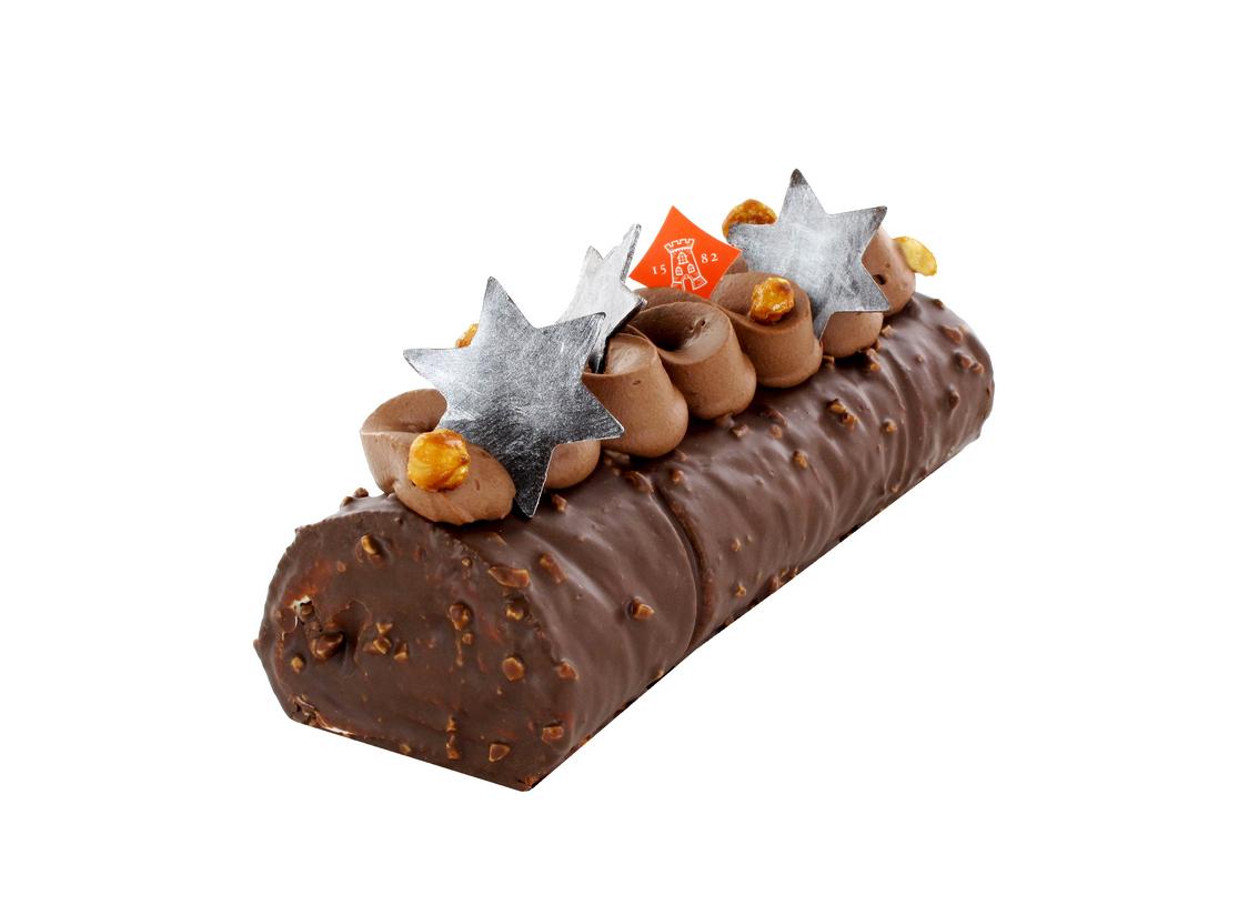 Boulanger de la Tour - Buche Ritournelle au chocolat