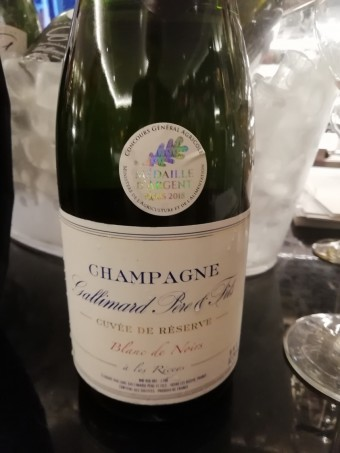 Champagne Gallimard © ourmets&co
