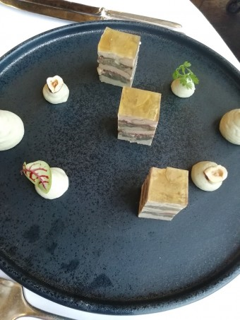 Marbré de foie gras de canad ©Gourmets&co