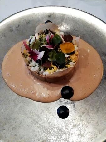 Poireau en croûte de sel truffé © Gourmets&co