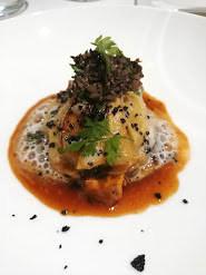 Ravioles de champignons sauvages, œuf bio © Gourmets&co