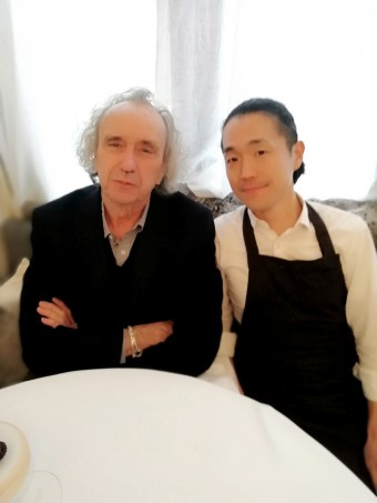 Avec le chef Yoshitaka Takayanaki © © Gourmets&co