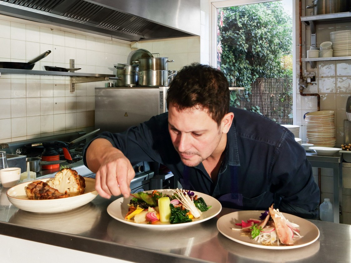 Chef David Polin