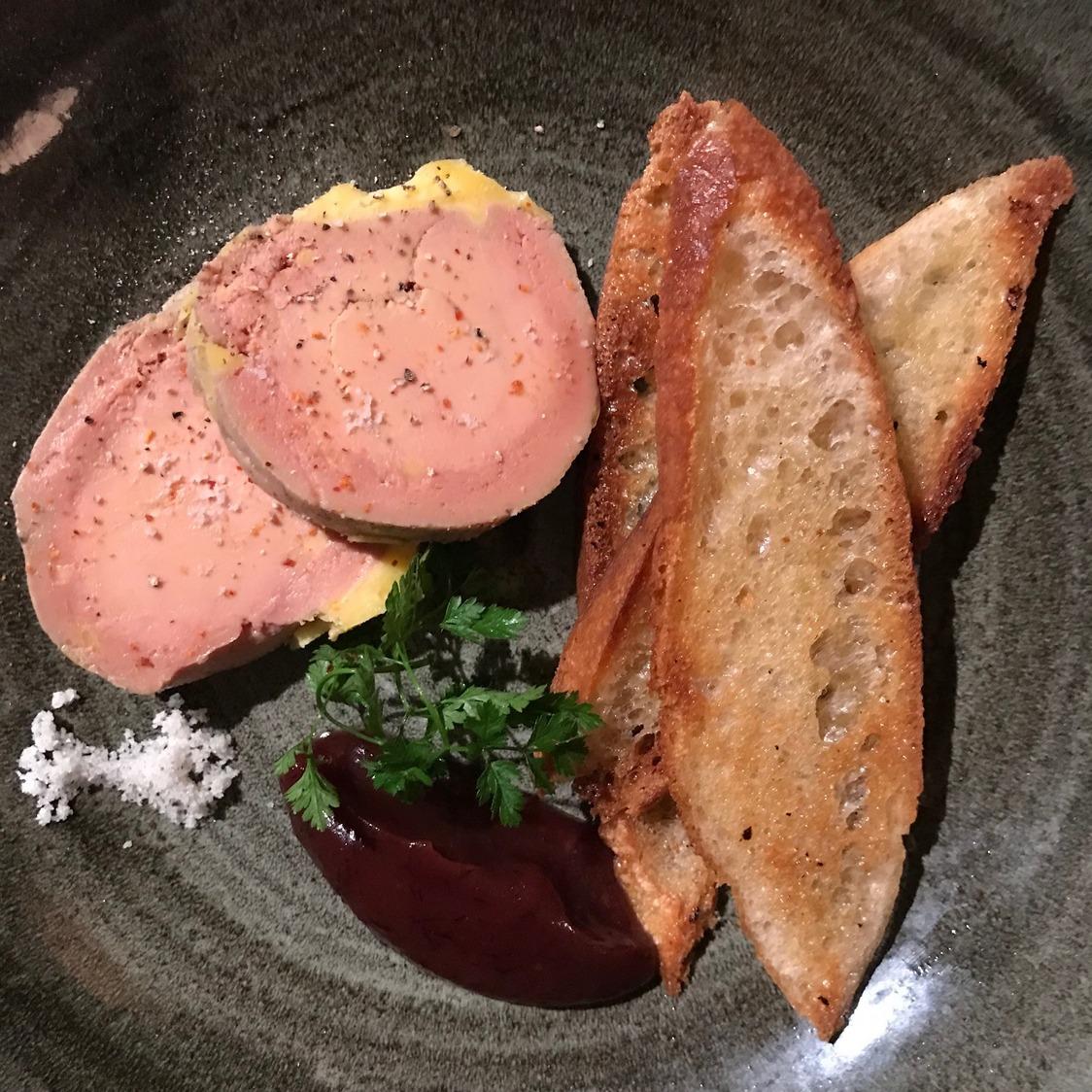 Foie gras mi-cuit maison © Olivia Goldman