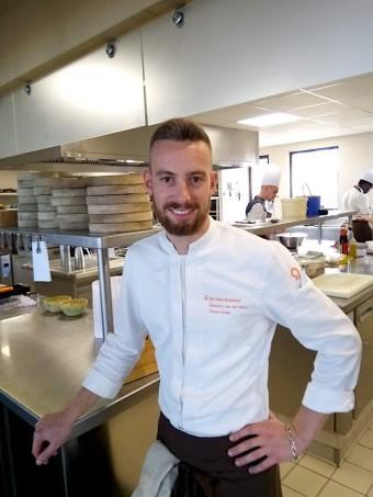 Le chef, Clément Pichard © Gourmets&co