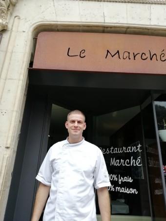 Le chef Marc Bozzato à Cahors. Déjeuner parfait
