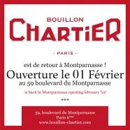 Le Renouveau du Bouillon Chartier Montparnasse