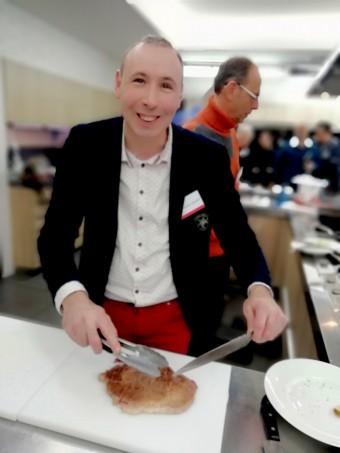 Chef Christophe Quéant (Carmin à Beaune)- © Gourmets&co