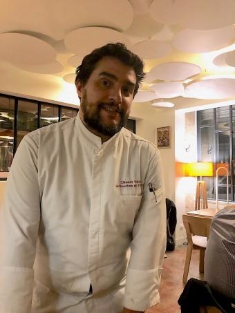 Chef Clément Vidalon © Gourmets&co