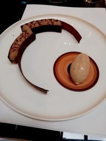 Crémeux guanaja, glace sarrasin © Gourmets&co