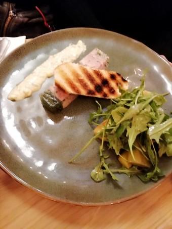 Jambon persillé, sauce gribiche © Gourmets&co