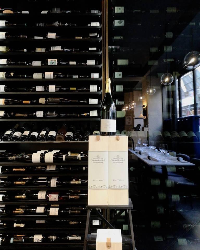 La sélection remarquable des bouteilles