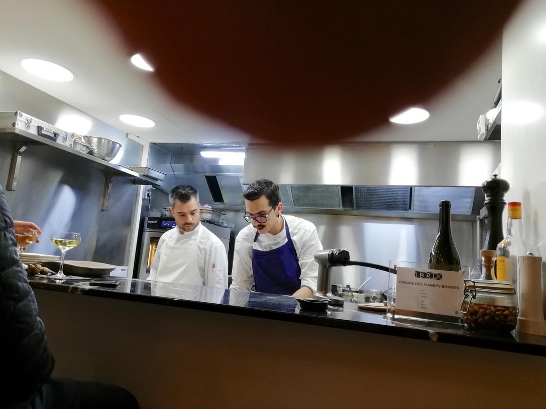 Les deux chefs © Gourmets&co