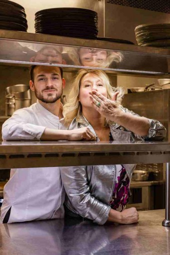Luana Belmondo et Rémy Bérerd-Saint-Valentin-Le Roch Hôtel & Spa Restaurant 2©LeGoffEtGabarra - copie