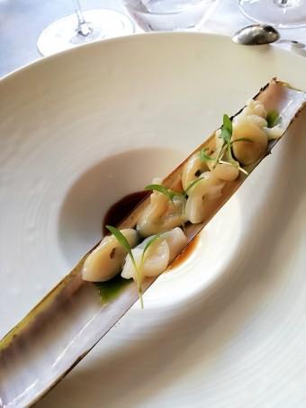 Couteaux, soja millésimé, coriandre © Gourmets&co