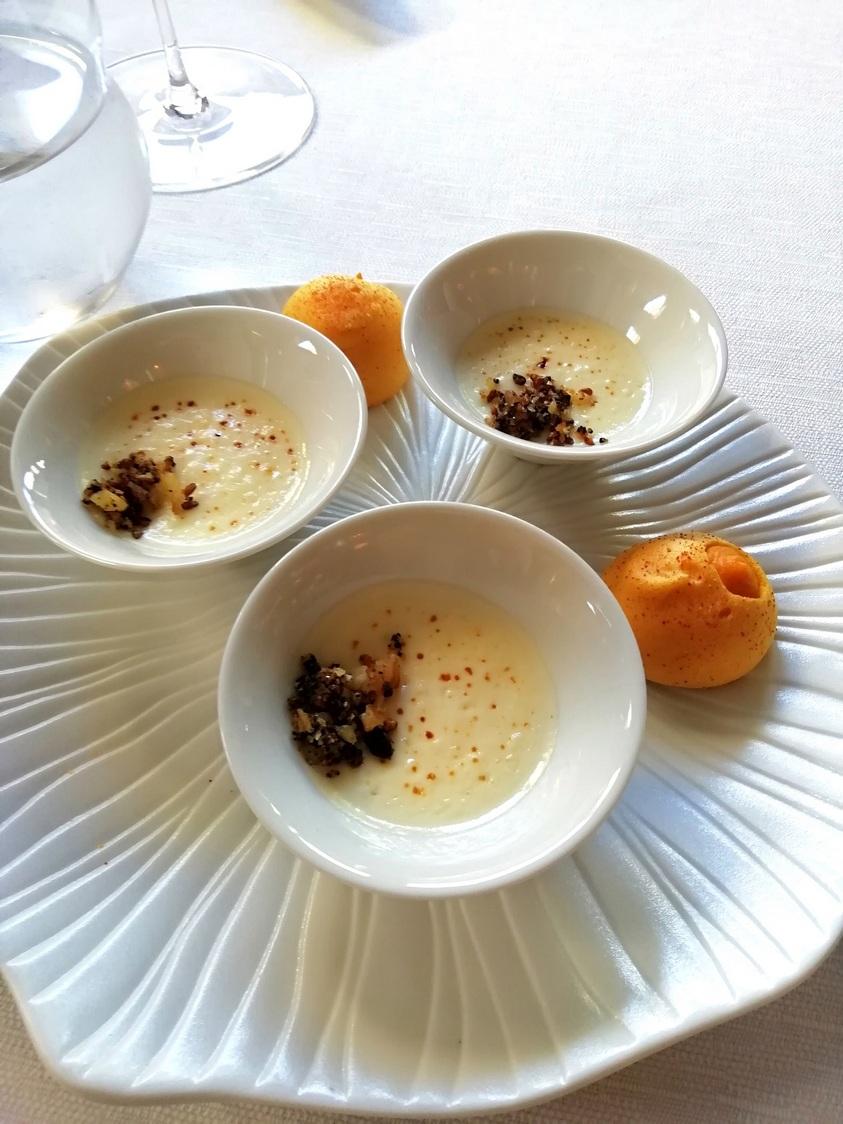 Crème légère au vieux Comté © Gourmets&co