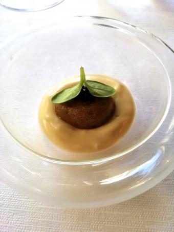 Emulsion pomme de terre fumée, harengs © Gourmets&co