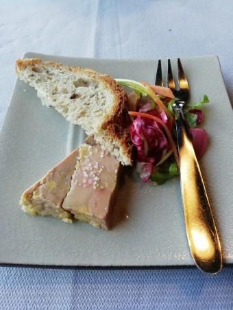 Foie gras à la châtaigne © Gourmets&co