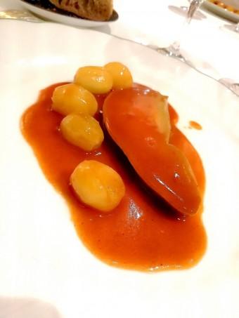Foie gras de canard aux raisins © Gourmets&co