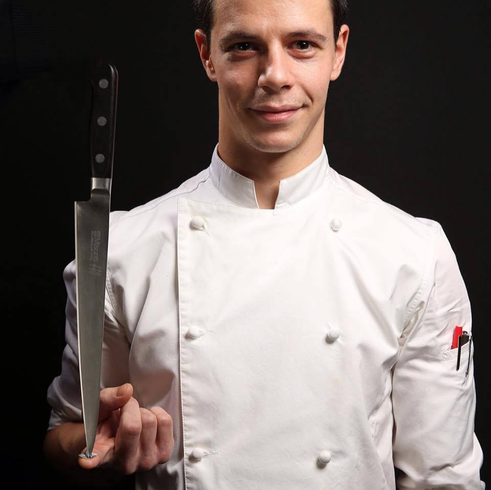 Le chef, Grégory Réjou